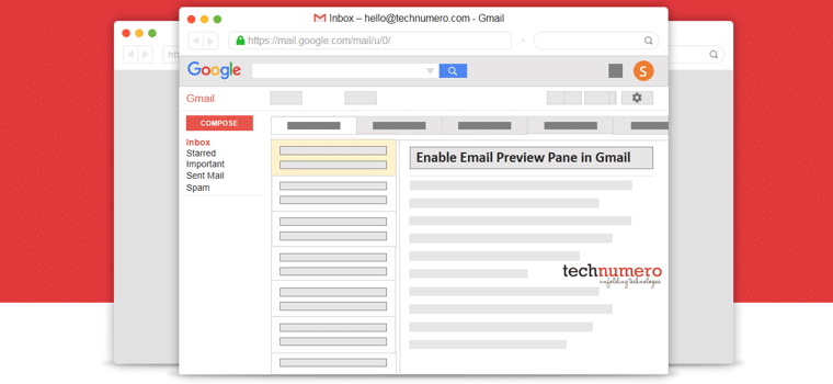 How to Enable Email Preview Pane in Gmail | Show Reading Pane in Gmail