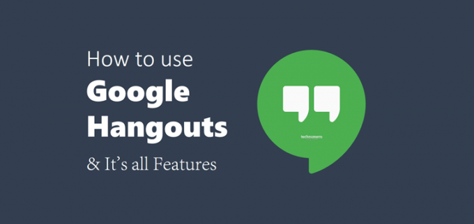 How to use Google Hangouts in Gmail/Android/Chrome - It's All Features