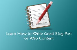 How to Write a Great Blog Post or Web Content