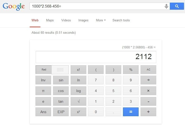 Universal Calculator