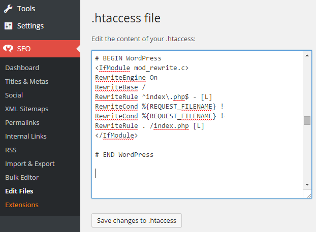 how to change url using htaccess