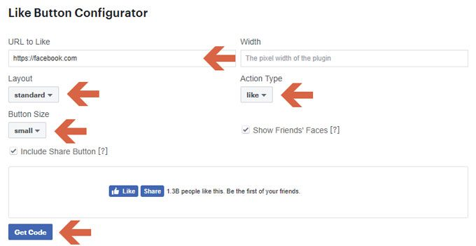 How to Add Facebook Like Button and Facebook Share Button