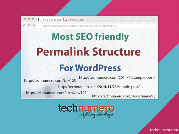 most seo friendly permalink structure for WordPress