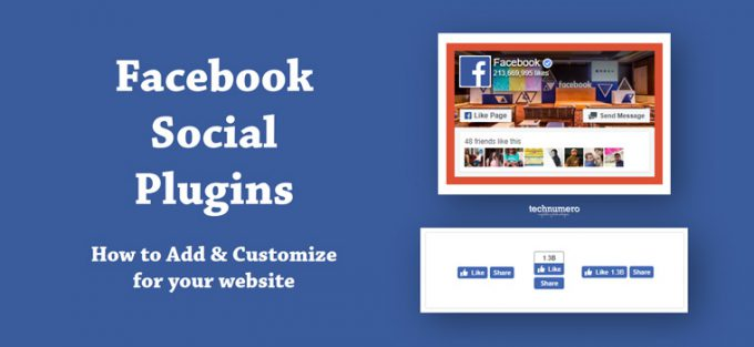How to Add and Customize Facebook Social Plugins - Facebook Page Plugin