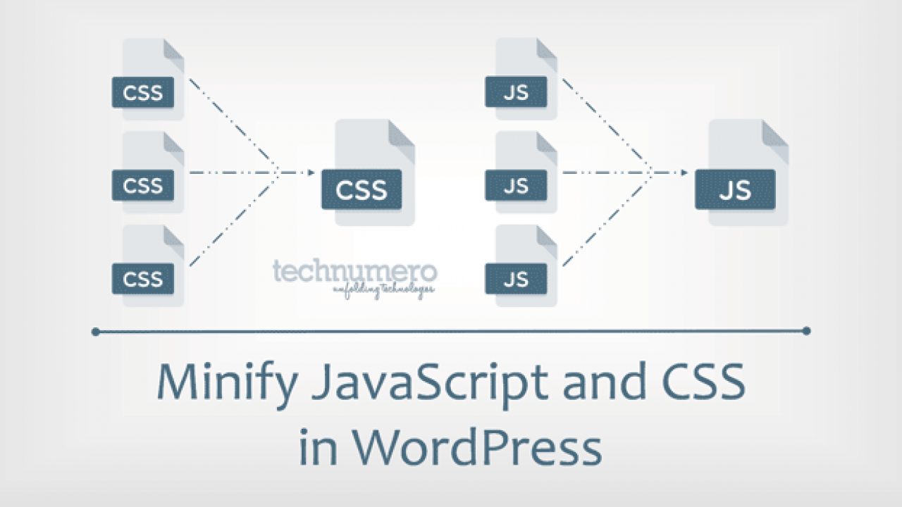 How to Minify JavaScript and CSS in WordPress to Increase
