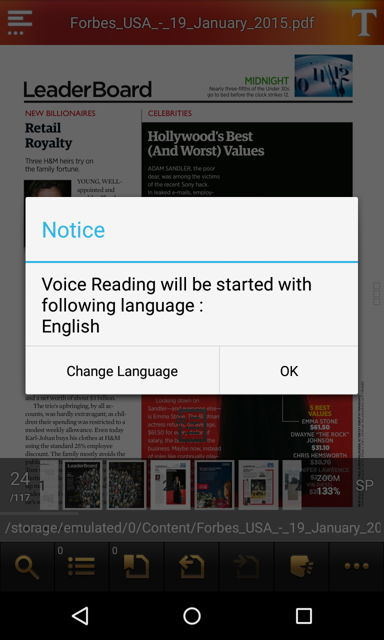 T2S text to voice read aloud Android - YouTube