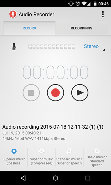 audio-recorder-home