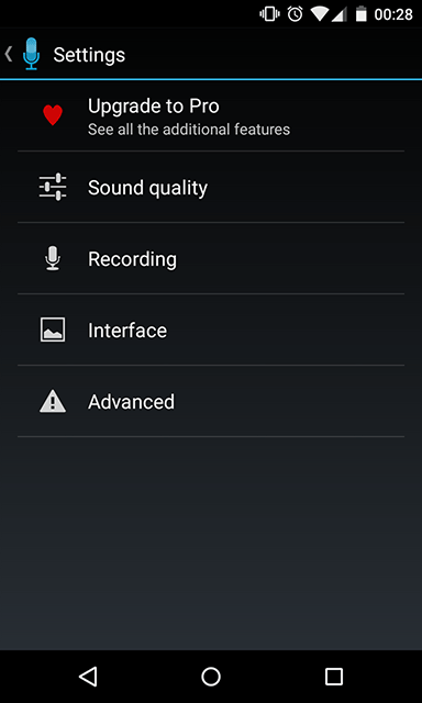 easy-voice-recorder-settings