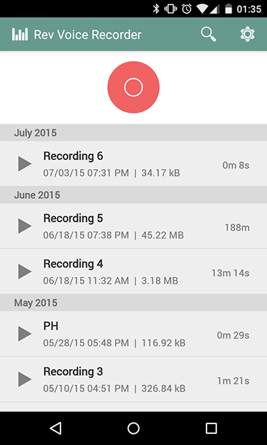 rev-audio-voice-recorder-home