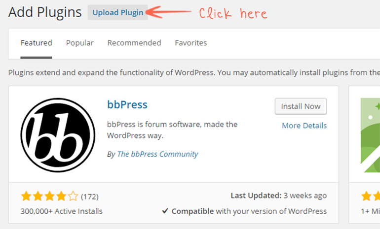 add new upload plugin