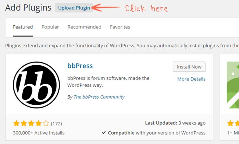 add new upload plugin