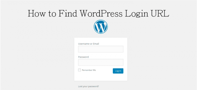 How to Find WordPress Login URL or WP Login URL