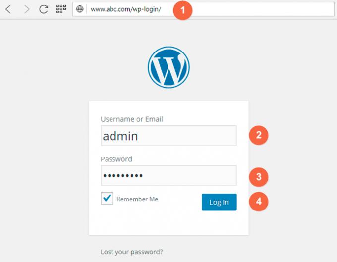 How to Login into WP Admin Panel using WordPress Admin Login URL