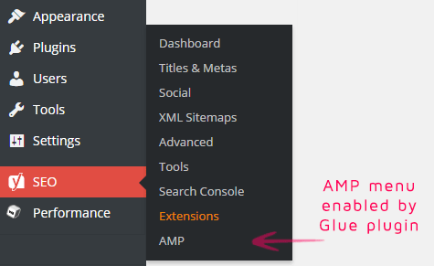 amp-menu-enabled-by-glue-plugin