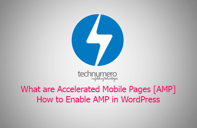 enable accelerated mobile pages