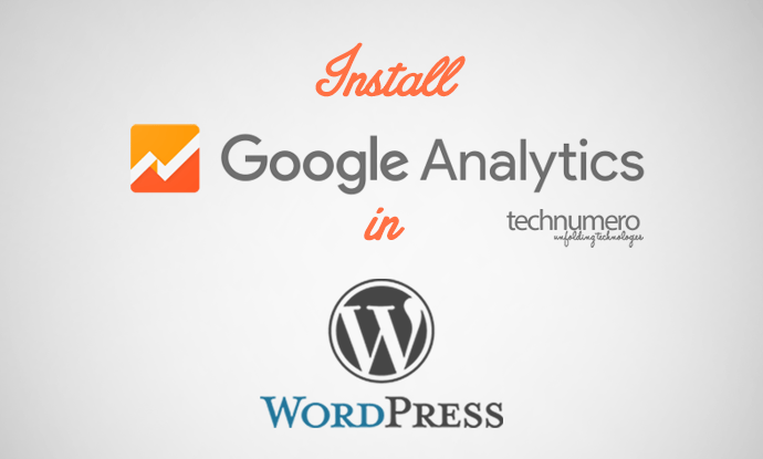 install google analytics wordpress
