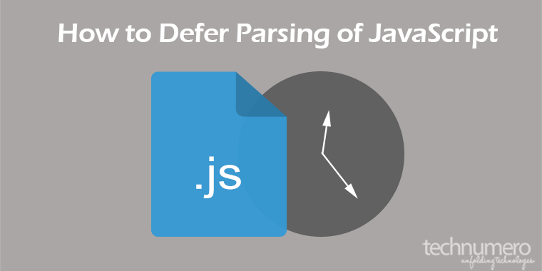 How to Defer Parsing of JavaScript