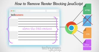 How to Remove Render Blocking JavaScript