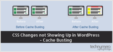 CSS Changes not Showing Up in WordPress – Cache Busting CSS