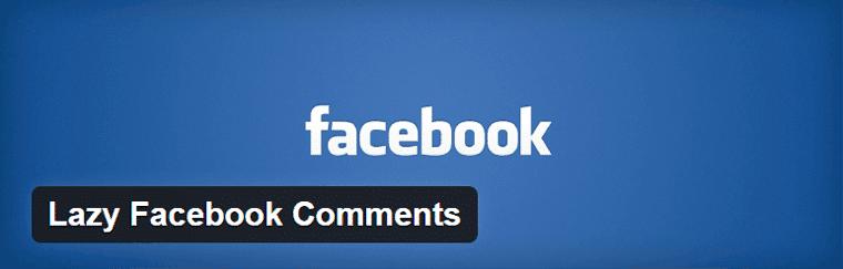 Lazy Facebook Comments Plugin WordPress