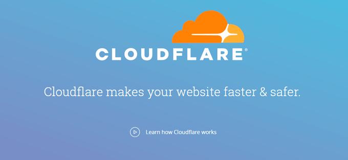 CloudFlare CDN Service