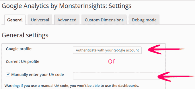 Google Analytics for WordPress by MonsterInsights WP SEO Plugins