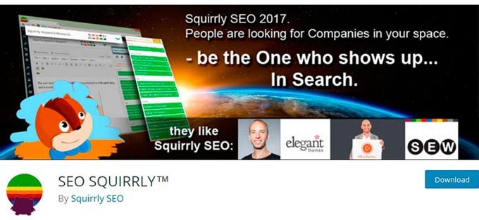 SEO SQUIRRLY WP SEO Plugins