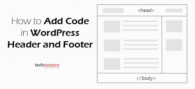 How to Add Code in WordPress Header and Footer with or without using plugin