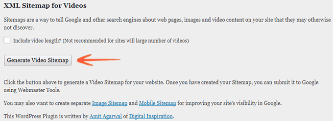 Google XML Sitemap for Videos - WP SEO Plugins