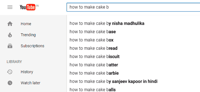 How to Make Cake b - YouTube Search