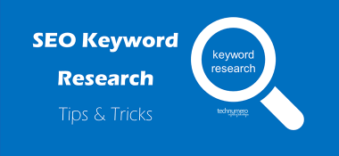 SEO Keyword Research Tips and Tricks for Bloggers