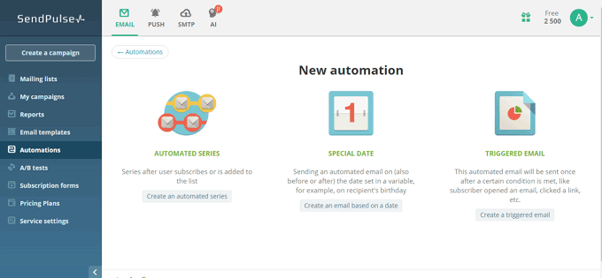 Three Email Automation Options