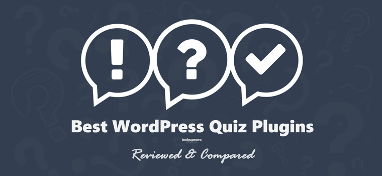 8+ Best Free WordPress Quiz Plugins to Conduct a Quiz