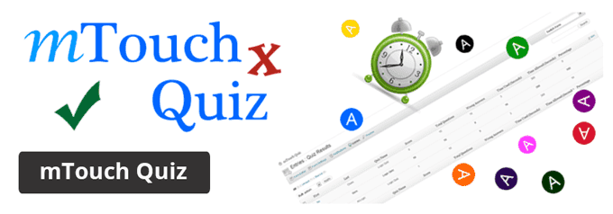 mTouch Quiz WordPress Plugin