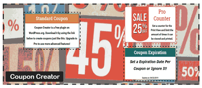 Coupon Creator - WordPress Coupon plugin
