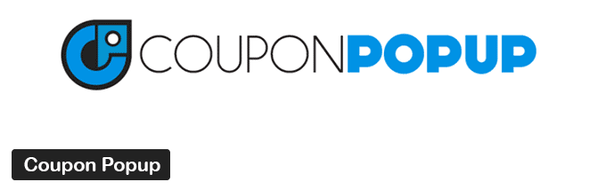 Coupon Popup WordPress Plugin