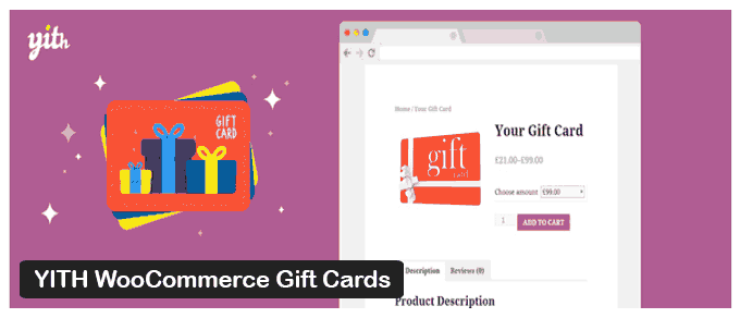 YITH WooCommerce Gift Cards - WP Plugin