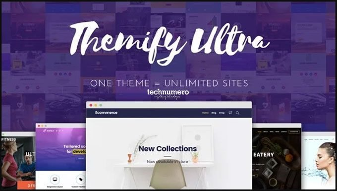 Ultra - Powerful Multi-purpose WordPress Theme