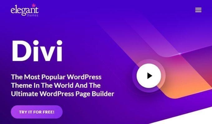 Divi Builder by Elegant Themes - Best WordPress Page Builder