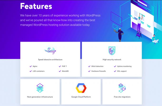 Kinsta - A Feature Rich Hosting Platform