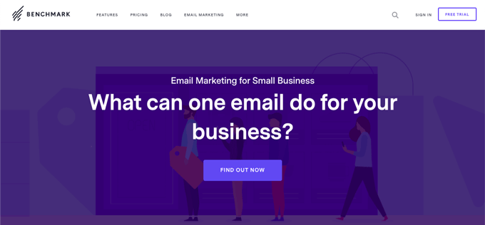 Benchmark offers best free email marketing templates - Highly Recommended for Beginners