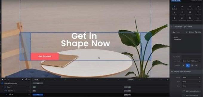 Slider Revolution Plugin for Beautiful Responsive Slider