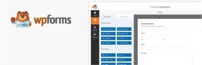 WPForms: Drag and drop form builder plugin