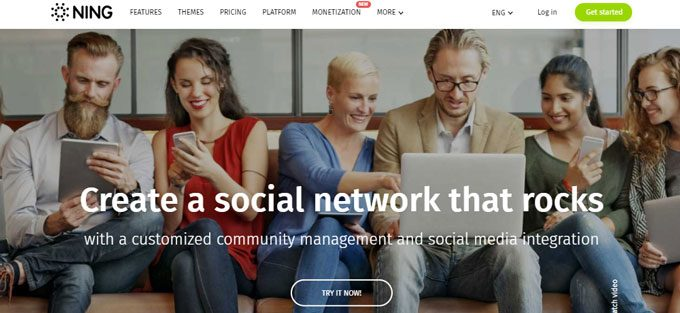 NING Review - A Feature Rich Online Community Website Builder