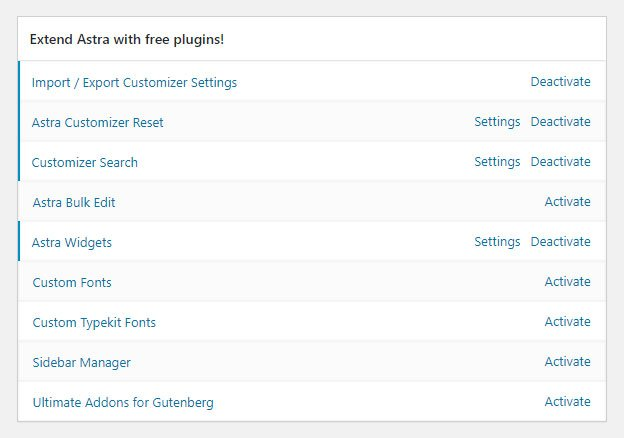 Additional Plugins for Extended Theme Functionality
